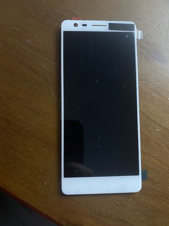 Ecrã, LCD, Display para Nokia 3.1 Branco