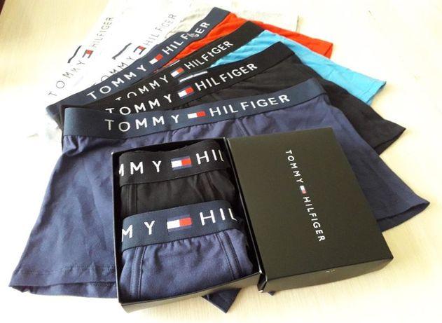 Мужские трусы/боксеры Tommy Hilfiger. Подарочные наборы 2/3/5 шт.