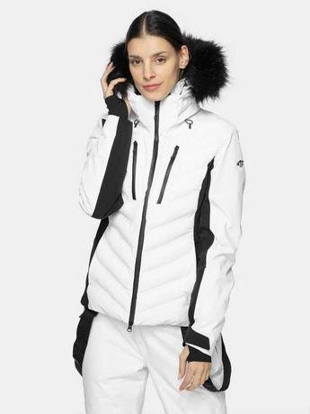 4F Nowe zimowa XXL/44 Kurtka płaszcz biała wodoodporna 20000 NeoDry