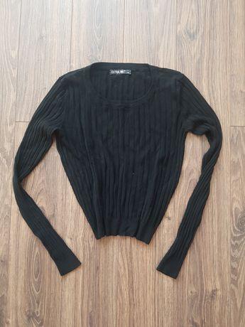Prążkowana krótki sweterek dobry na M i L