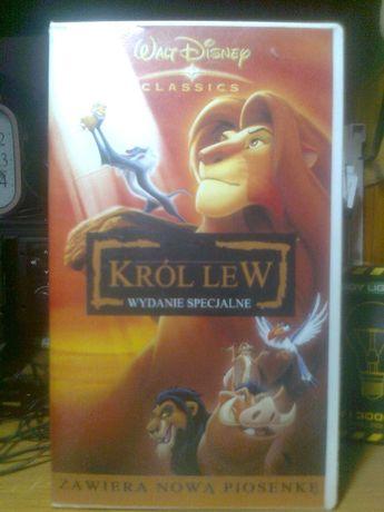 Bajka Król Lew na VHS (orginał)
