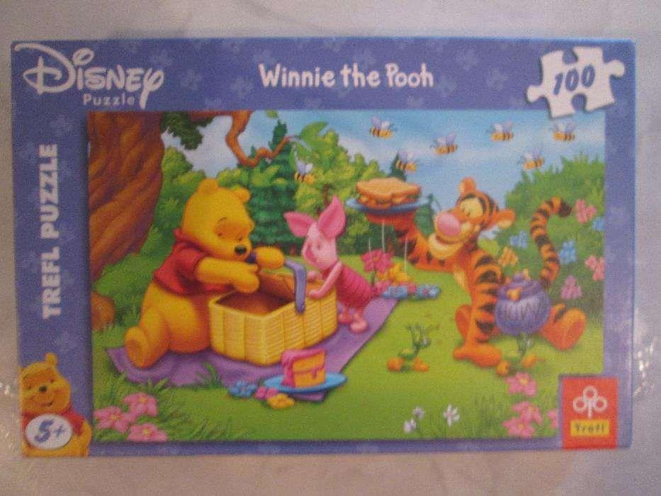 """puzzle 100 peças """"Winnie the Pooh"""""""