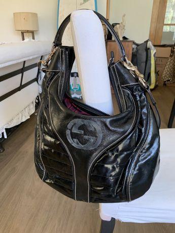 Bolsa Gucci em Couro preto