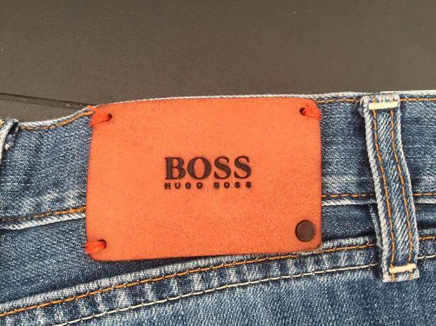 Spodnie dżinsowe męskie - Boss