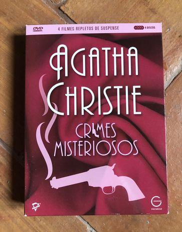 Agatha Christie - Crimes Misteriosos - Colecção DVD