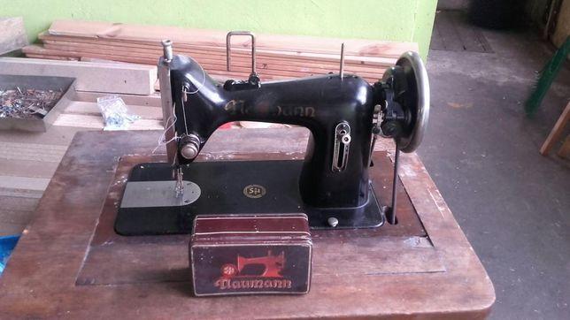 Stara maszyna do szycia Naumann