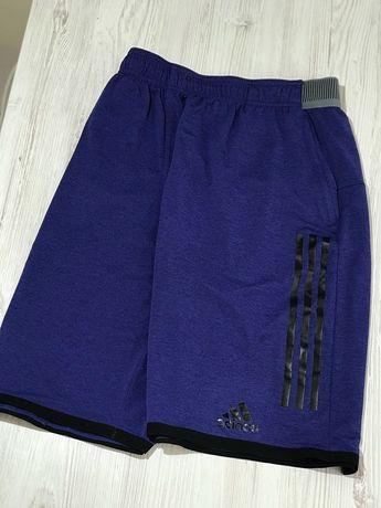 синие мужские шорты adidas climachill  L/XL