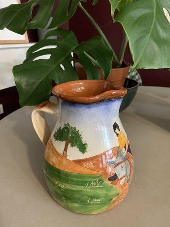 Caneca / jarro pintado à mão