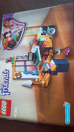 Zestaw lego friends sypialnia Andrei