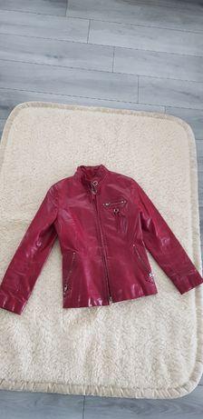 курточка женская натуральная кожа XS