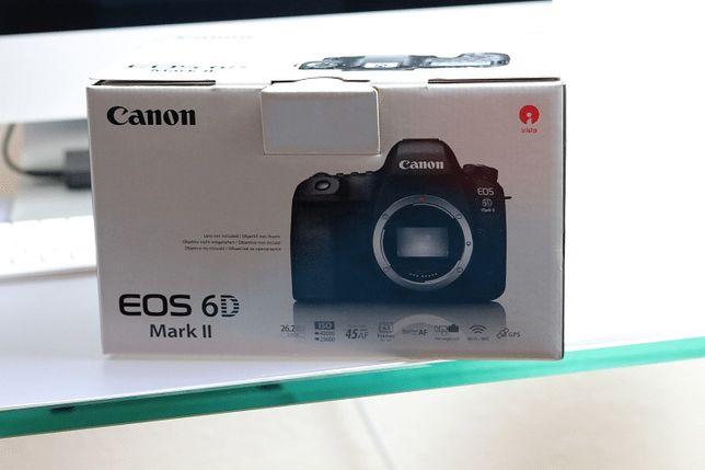 Canon 6d II Fullframe Garantia/seguro Worten