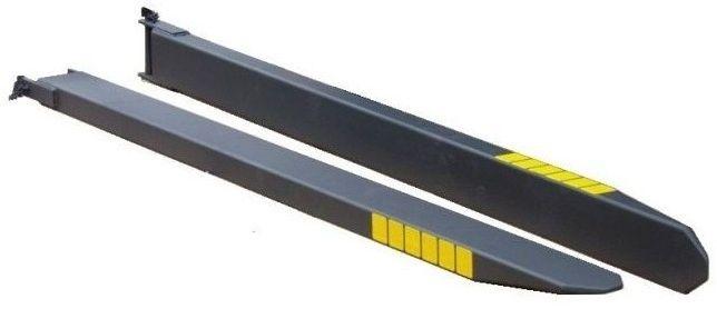 Przedłużki do wideł 2200x120x80 przedłużenie wideł nakładki