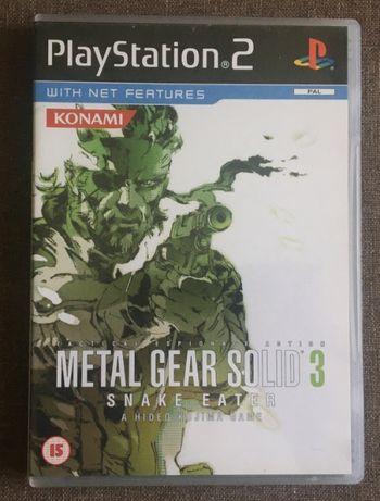 Metal Gear Solid 3 Snake Eater - Unikat - Płyta Jak NOWA - PS2