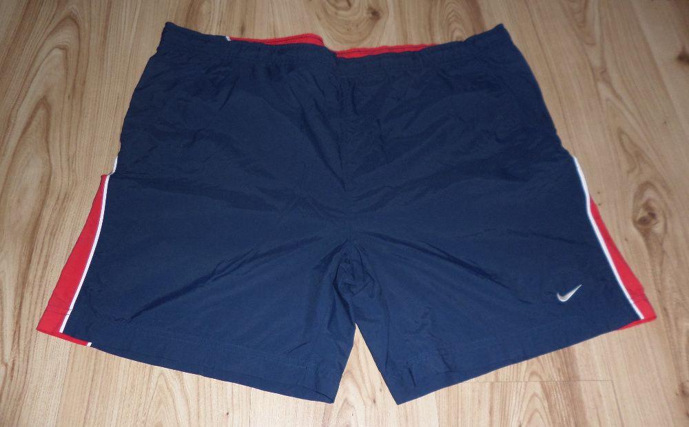 Spodenki sportowe NIKE męskie (rozmiar L/XL) ORYGINALNE niebieskie Turek - image 1