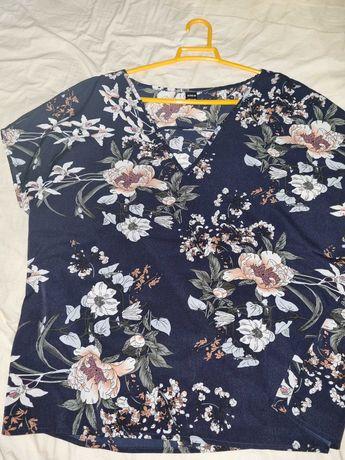 Camisa nova as flores
