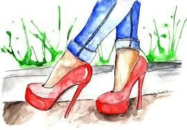 Buty damskie różne