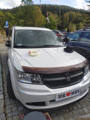 Ozdoby dekoracje na samochód ślub wesele wianek cylinder naklejki