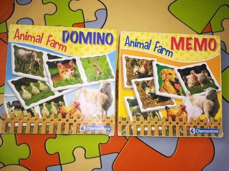 Jogos educativos, lote de 2 (Animais)