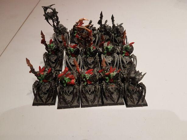 15x Spider Riders Warhammer FB