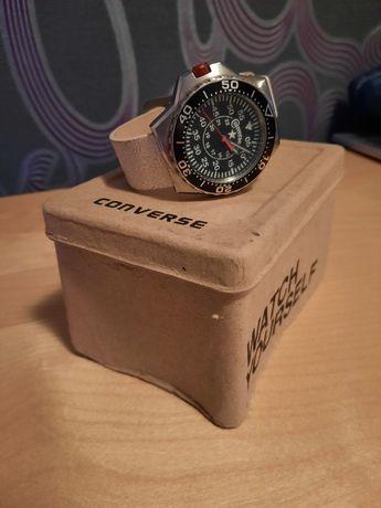Zegarek Converse vr008-150, skórzany pasek jak nowy