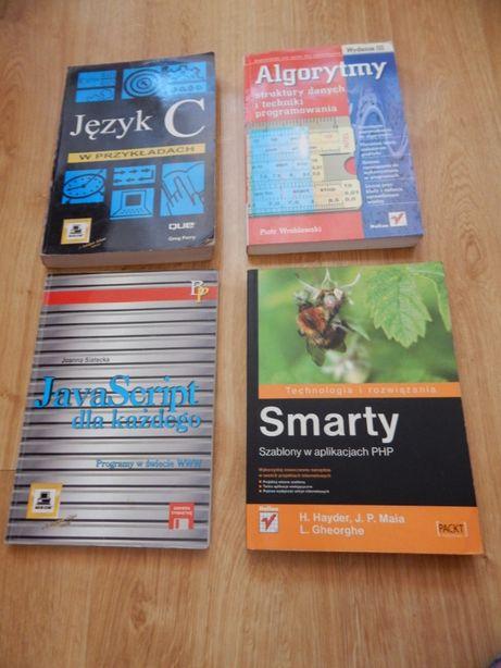 Książki informatyczne - zestaw 4 książek informatycznych