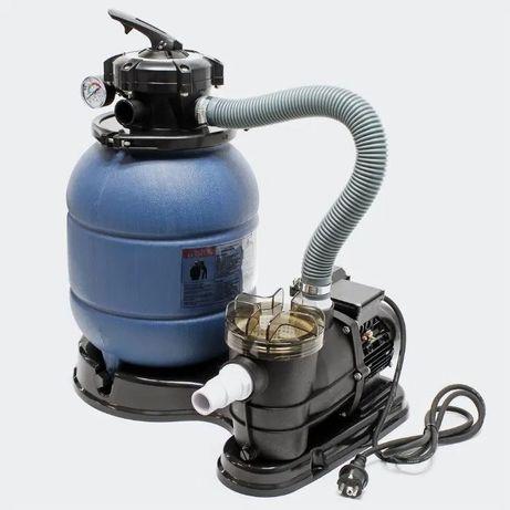 Bomba Piscina com Filtro de areia c/ pré-filtro 6000L/h