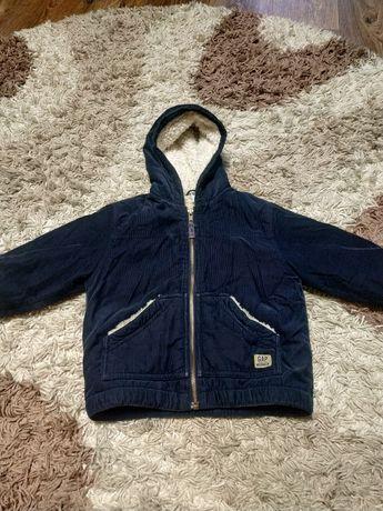 Куртка-меховушка на 2-3года