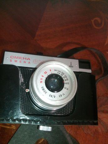 Фотоаппарат смена 8М с хорошим объективом