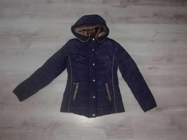 Zimowa pikowana kurtka rozmiar s