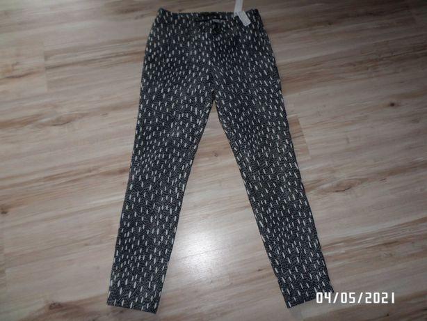 SUPER-damskie spodnie-Zara-rozm-S-36/38