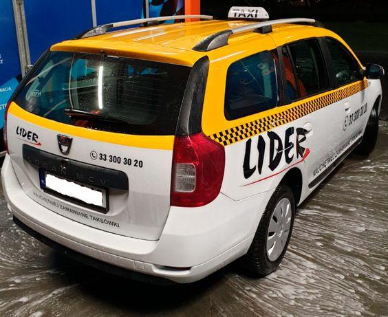 Taksówka Taxi Dacia Logan