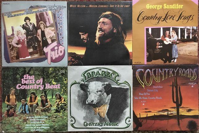 Płyty winylowe Country zestaw 6 sztuk