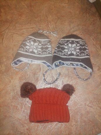 Шапка зимняя, шапка на девочку, шапка на мальчика