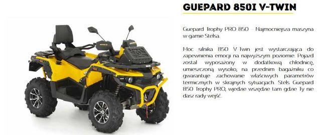 Quad ATV Stels Guepard 850 PRO 2021