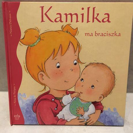 """Książeczka """"Kamilka ma braciszka"""""""