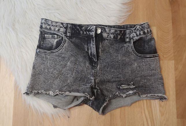 Spodenki jeansowe 164 cm