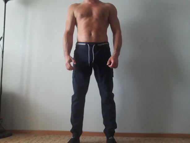 Spodnie joggery bojówki