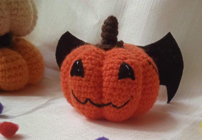 Сувенир, подарок на Хэллоуин, Halloween, тыква, летучая мышь