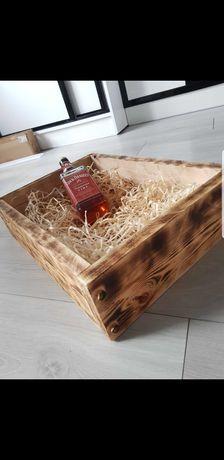 Drewniana skrzynia na alkochol:)