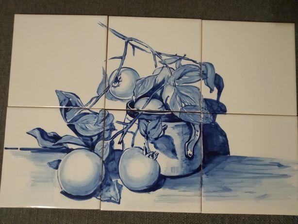 Azulejos Tradicionais Portugueses pintados à mão