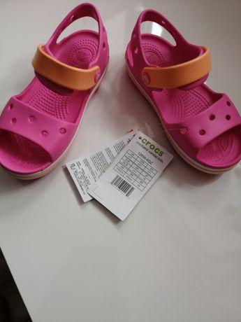 Nowe sandałki Crocs C11