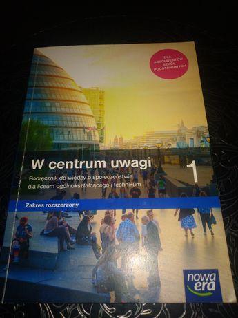 W centrum uwagi 1 podręcznik do wiedzy o społeczeństwie
