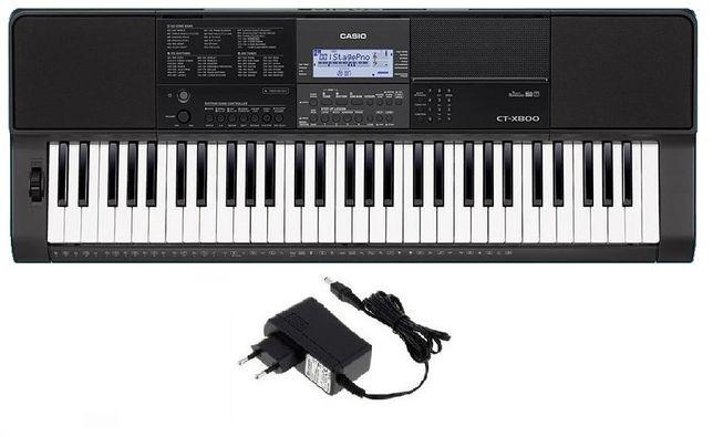 Keyboard Casio CT X800 zasilacz NOWY SKLEP WYSYŁKA w cenie 5lat gw.