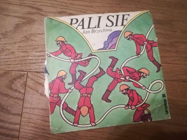 Płyta winylowa mała Pali się