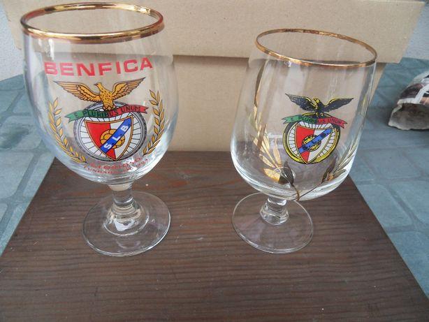 Copos Tulipa Benfica