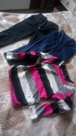 Spodnie ciażowe i bluzka