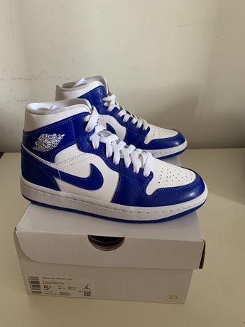 Air Jordan 1 Kentucky Blue 36