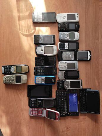 Zestaw telefonów.