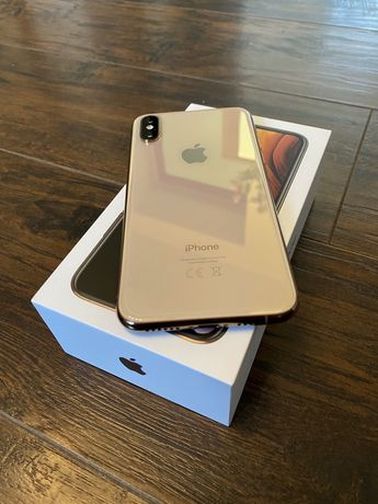 Telefon Apple iPhone XS Gold 64GB Idealny Wrocław