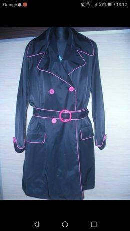 Simple nowy firmowy trencz damski r 50-52 duży płaszcz